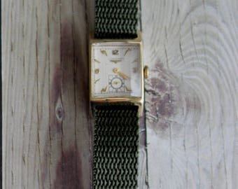 Vintage Ladies Longines Faceted-Crystal Wrist Watch by avintageobsession on etsy...FREE USA Shipping