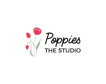 Cute Logo 04 Premade Design . Business Logo, Branding Logo, Shop/Store Logo, Studio Logo, Flower Shop Logo