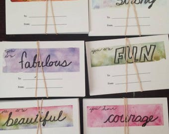 "Gift Tags/ Valentines ""You Are"""