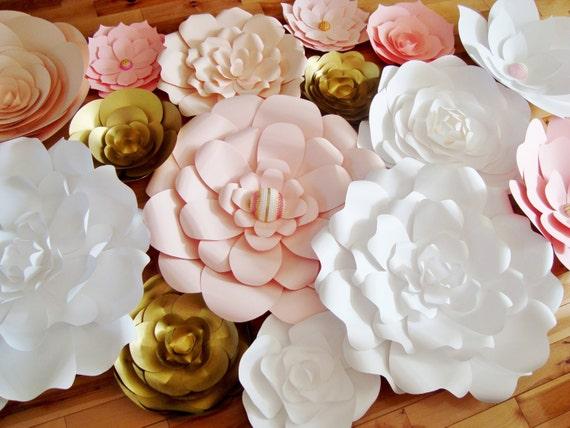 35 paper flowers paper flower wall backdrop for weddings mightylinksfo