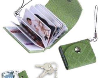 Mini photo book personal pocket with 18 custom photo