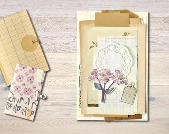 Vinatge Paper Pack Scrapbook Junk Journal Ephemera