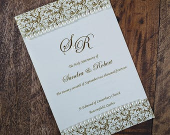 Vowel Renewal Program, Vowel Renewal Ceremony Program, Vowel Renewal Booklet, Pearl Wedding Program, 30th Wedding Anniversary Program