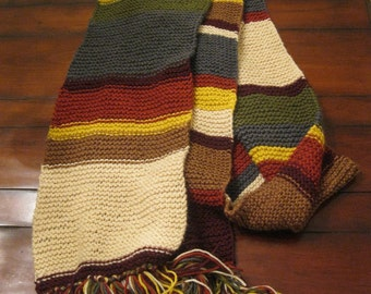 Fourth Doctor Epic Scarf **COMMISSION DEPOSIT ONLY**