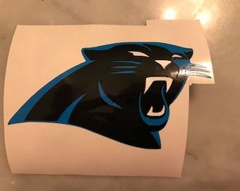 Carolina Panthers vinyl decal