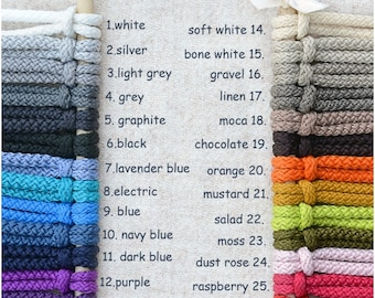 Macrame cord 3 mm 109 yards, 100 meters Polyester cord Macrame supplies Soft textile Braided polyester rope Jewelry making Macrame supplies