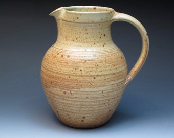 Winchcombe Pottery Two Quart Jug, Studio Pottery Jug, Michael Cardew / Leach Pottery Link, Hand Thrown Pottery