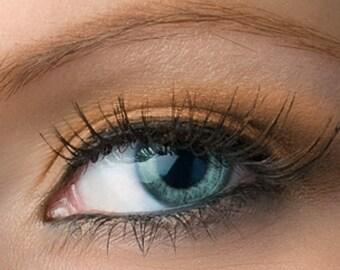 """Matte Peachy Brown Eyeshadow - """"Sweet Roll"""" - Vegan Mineral Eyeshadow Net Wt 2g Tan Mineral Makeup Eye Color Pigment"""