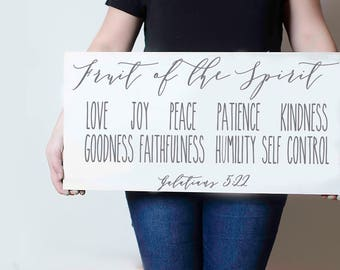"""Fruit of the spirit Galatians 5:22 