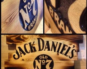 Jack Daniels Woodsign