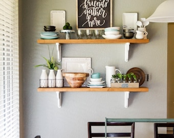 Merveilleux Quick View. More Colors. French Country Cottage Style Wood Shelves, Kitchen  ...
