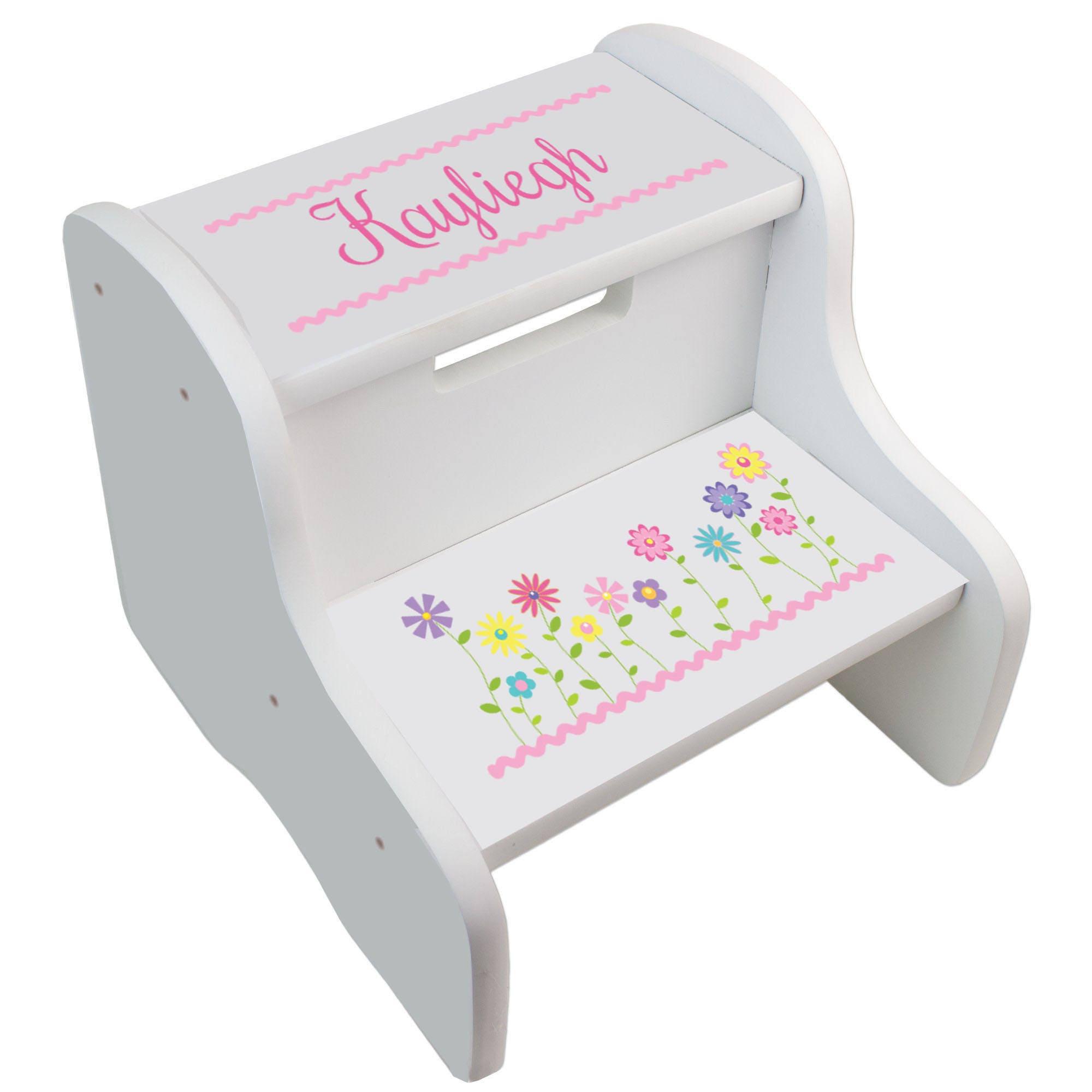 Personalized Step Stool For Girl S Custom Stepping Stools