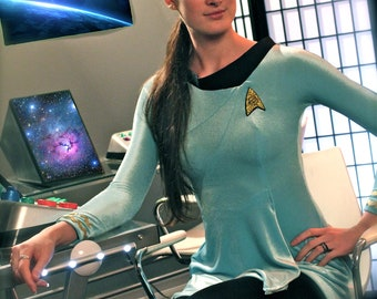 Custom Star Trek TOS female skant cosplay/costume uniform