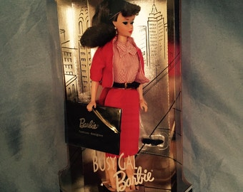 1994 Busy Gal Barbie - Limited Edition Reproduction of Original 1960 Fashion and Doll