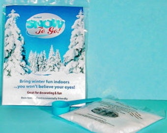 Instant Snow-1 Gallon-Artificial Snow-Slime Supplies-Snow Slime-Faux Snow-Insta Snow-Snow To Go-Instant Snow Powder-Slime-Slime Kit-Slime
