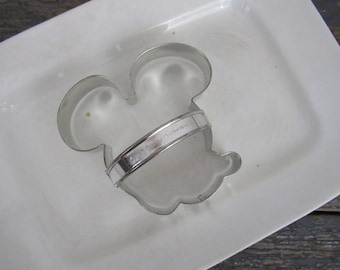 Mickey Mouse Cookie Cutter, Disney Cookie Cutter, Large Cookie Cutter, Metal Cookie Cutter