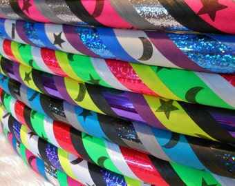 Design Your Own Custom 'GaLaCtiC MoOnS & STaRs' Travel Hula Hoop. Choose from The Largest CoLoR Selection on Etsy.