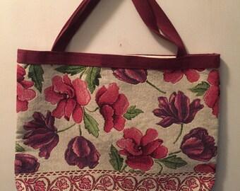 Hand-sewn book tote