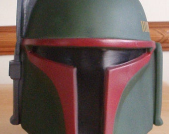 "Star Wars - Boba Fett head! Rare! 7"" tall-molded hard plastic w/ a t-shirt inside! Never opened. Kohl's exclusive! (1995)"