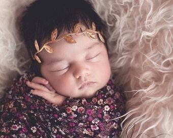 Newborn Headband, Baby Headband, Headbands, Baby Girl, Gold Headband, Newborn Girl, Girls Headband, Toddler Headband, Newborn, Headbands