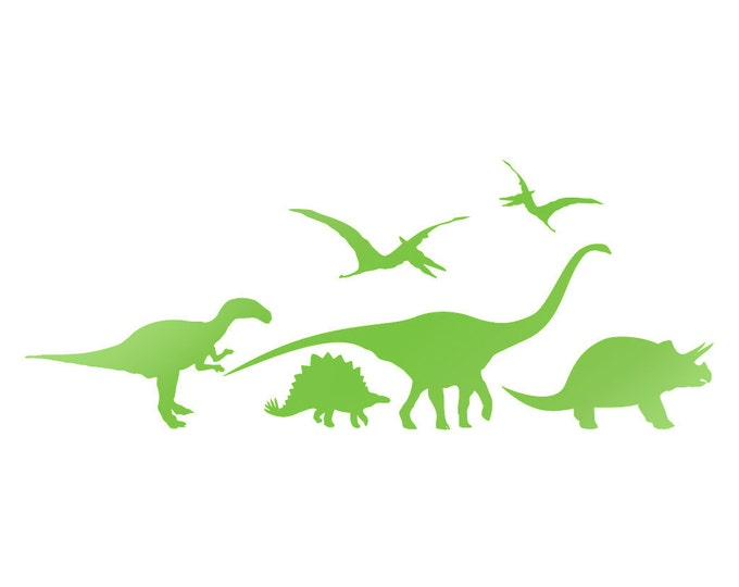 Dinosaur Wall Stickers or Window Decals (15)