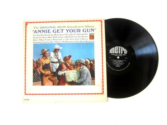 Annie Get Your Gun MGM Soundtrack Vinyl Record Album 12 Inch LP Vintage Music Metro Album