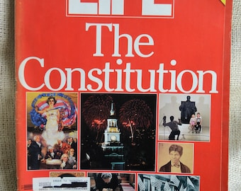 Life Magazine Fall 1987 The Constitution