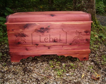 Customized and Personalized  Options for Aromatic Cedar Chests