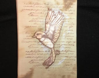 Hand Bound Small Watercolour Book