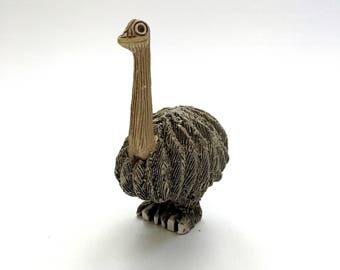 Artesania Rinconada Ostrich Figurine #01 Retired Classic Collection