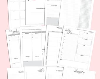 Extraordinary Life Planner | Printable Planner Download