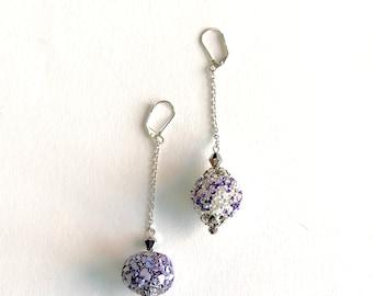Beautiful artisan Kashmiri earrings   *free shipping**