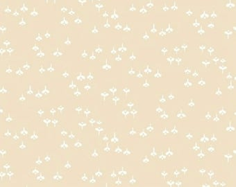 Toasted Almond - Flower Buds Beige from Windham Fabrics