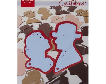 Marianne Designs Creatables Die ~ Lord & Lady Silhouette, LR0211  ~