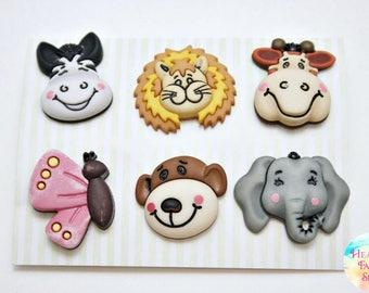 Noah's Animal Friends Button Set