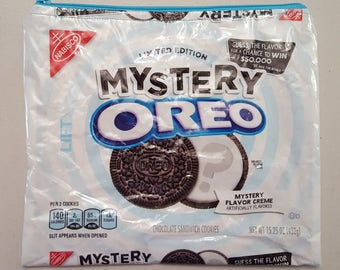 LIMITED EDITION! Oreo Mystery Cookie Upcycled Zippered Bag