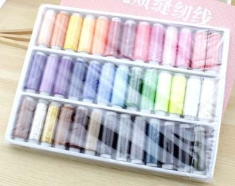 200 yards(each one) sewing thread 39 color / Group