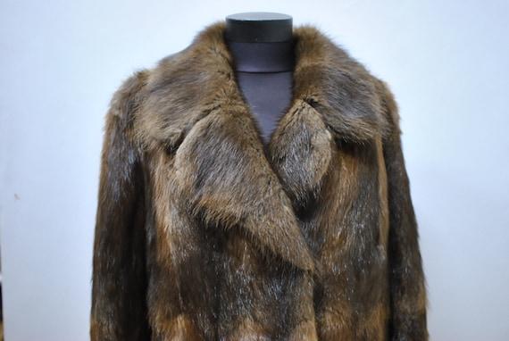 mink Vintage jacket coat MINK 582 FUR fur SHORT rqafIq