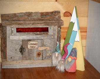 Gnomes, house gnomes, shelf gnomes, wool gnomes, one of a kind gnomes, home decor gnome, woodland gnome