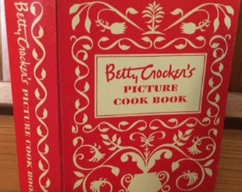 Betty Crocker's Picture Cook Book 1950 1st/1st Five Ring Binder
