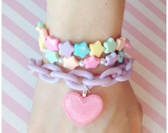Pastel Kawaii Fairy Kei bracelet