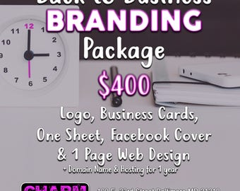 Back to Business Branding Package