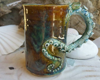 Octopus Handle Mug