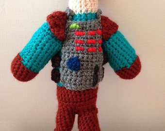 Paradigm Crochet Doll