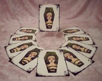 coffins2die4 {postcard prints} x10