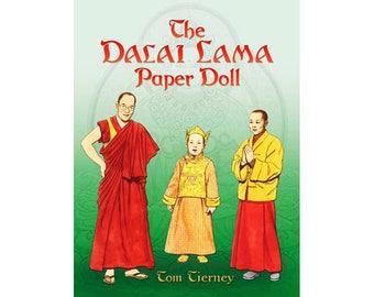 The Dalai Lama Paper Doll               (S-015)