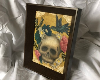 LIVING- framed painting