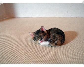 Fairy Garden Resin Cat/Sleeping*/ Minis /Supplies*