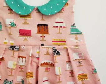 Birthday Dress - Toddler Dress - Party Dress - Twirl Dress - Girls Party Dress - 1st Birthday Dress - Tea Party Dress - First Birthday Dress