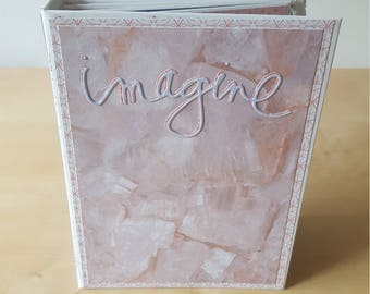 Imagine - 5x7 Super Deluxe Scrapbook Photo Album